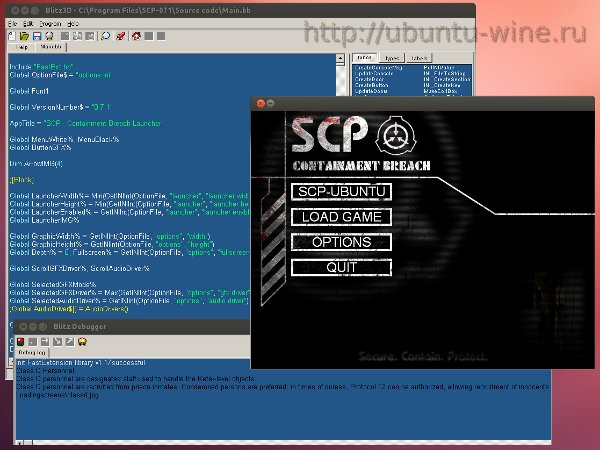 Blitz SCP on Ubuntu